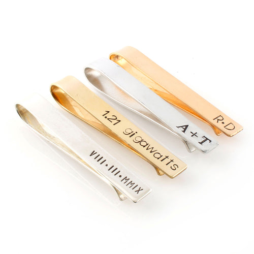 Your Words Here - Classic Tie Bar - Spiffing