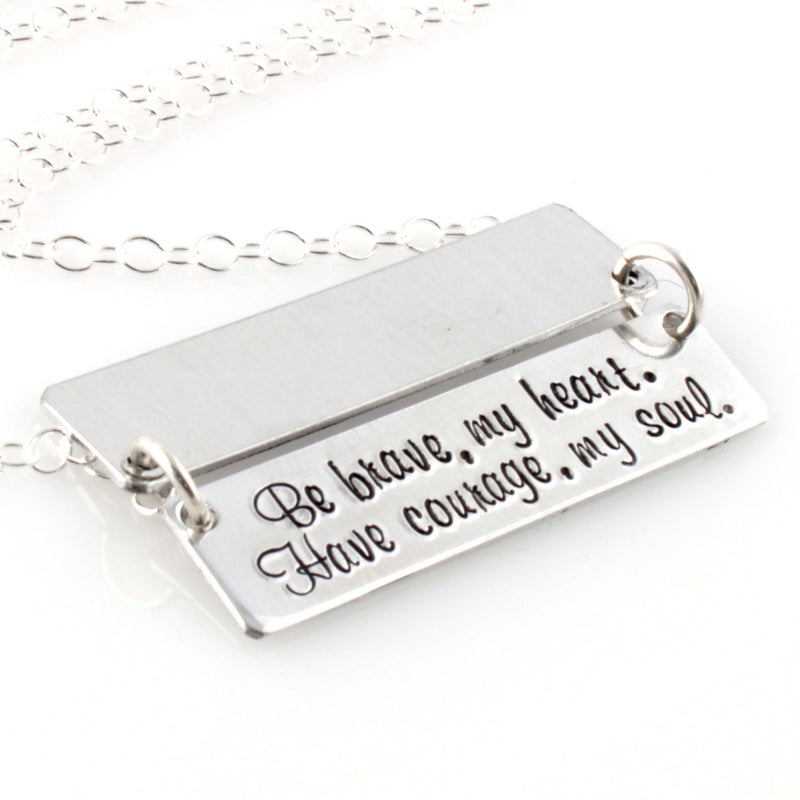 Custom Secret Message Necklace - Spiffing