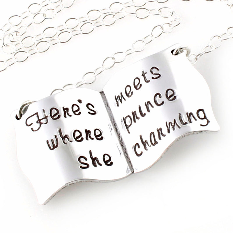 Belle's Book Necklace - Spiffing