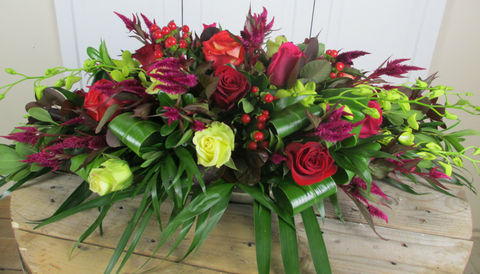 Burlington Casket Sprays | Burlington Florist | EuroStyle Flower Market