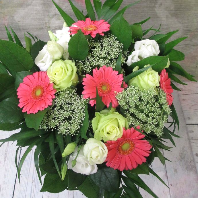 Burlington Florist - Send Flowers - Chic Pink Bouquet