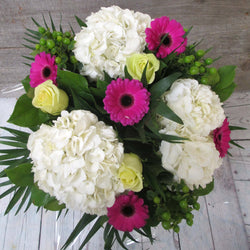 Burlington Florist - Savannah Melon Hand-Tied Bouquet - EuroStyle Flower Market