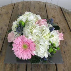 Burlington Florist - Pink Parfait - European Arrangements - EuroStyle Flower Market