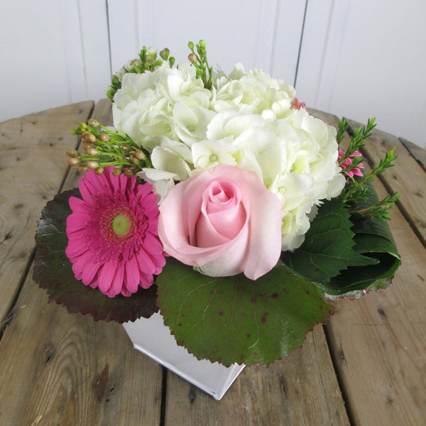 Burlington Florist - Pink Crown - European Arrangements - EuroStyle Flower Market