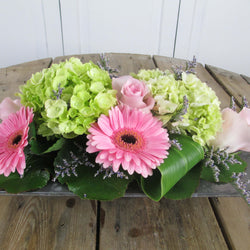 Burlington Florist - Pink Meadow - European Arrangements - EuroStyle Flower Market