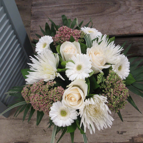 Burlington Florist - Send Flowers - Riverstone Hand-Tied Bouquet