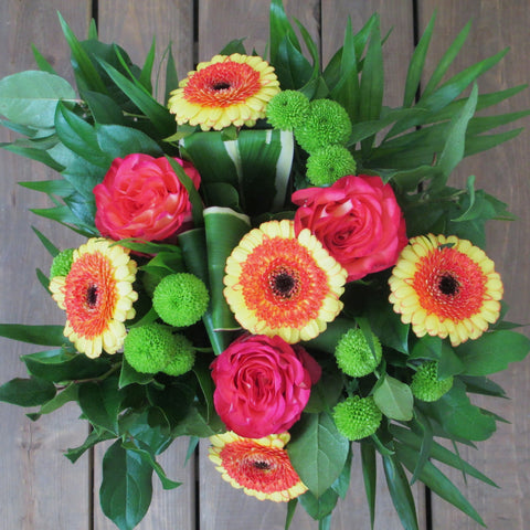 Burlington Florist - Warm Comfort Bouquet - EuroStyle Flower Market