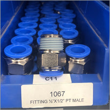 "1/2"" x 1/2"" PT Male Water Fitting - LaserLocker.com"