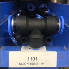 "Union Tee 1/2"" - 1/4"" Water Fitting - LaserLocker.com"
