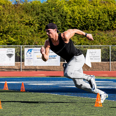 Griff Whalen, vegan athlete