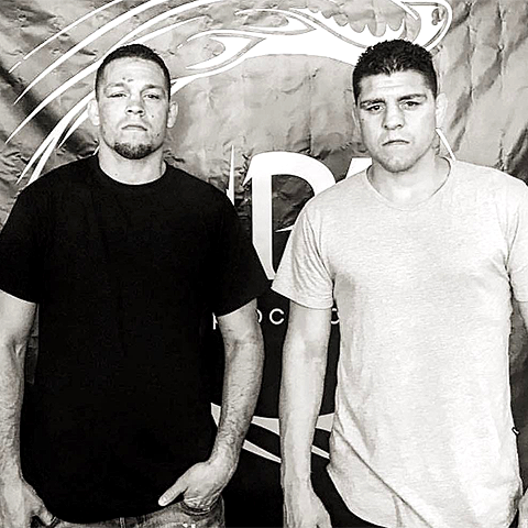 Nate and Nick Diaz, vegan athletes