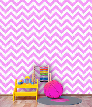 CHEVRON/STRIPED WALLPAPER