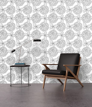 Removable Butterfly Wallpaper / Naomi Lee II