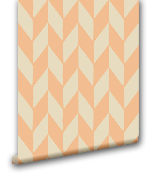 Feather Chevron - Wallpapers.com