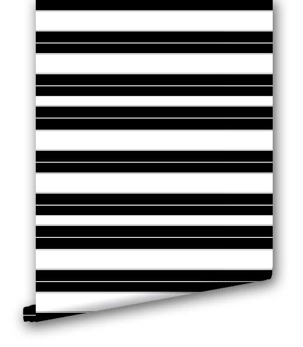 Black & White Stripes - Wallpapers.com