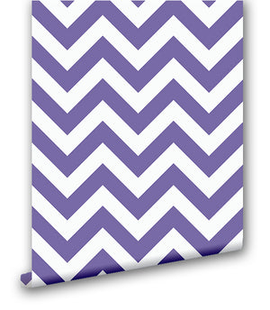 Ultra Violet Chevron's - Wallpapers.com