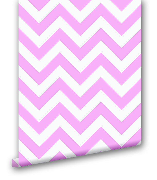 Pink Chevron Stripes - Wallpapers.com