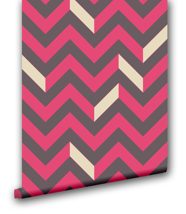 Traditional Chevron II - Wallpapers.com