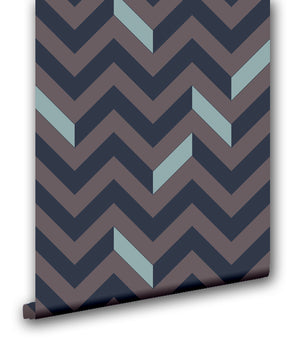 Traditional Chevron III - Wallpapers.com
