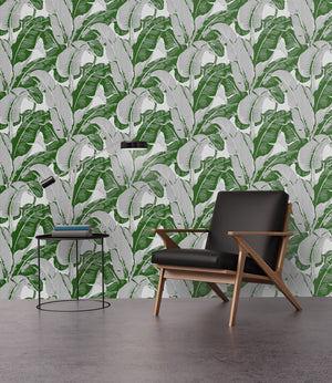 Classic Beverly Hills Banana Leaf IV - Wallpapers.com
