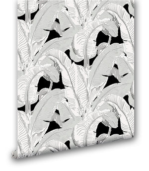 Classic Beverly Hills Banana Leaf IX - Wallpapers.com