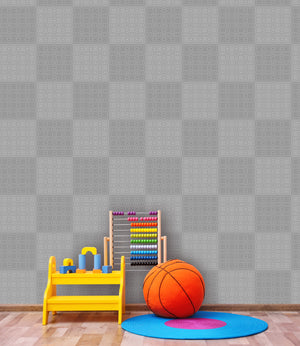 Plaid in Gray - Wallpapers.com