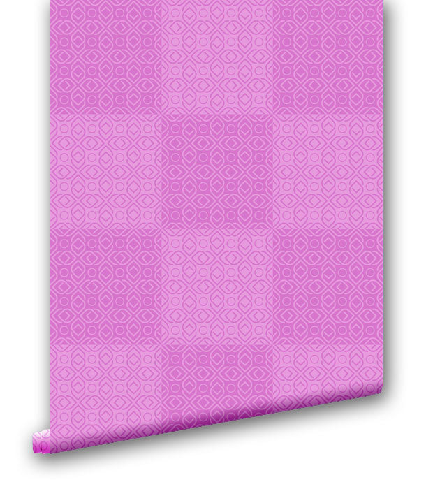Plaid in Pink - Wallpapers.com