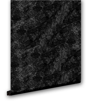 Faux Black Marble III - Wallpapers.com