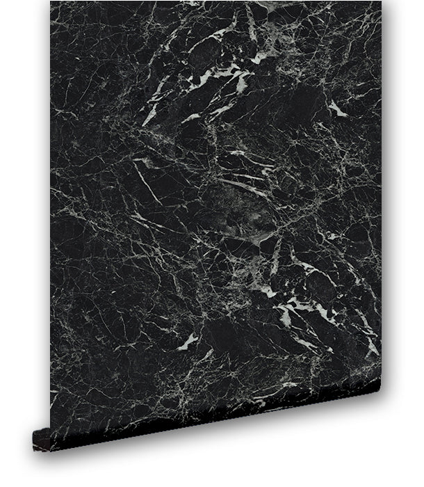 Faux Black Marble - Wallpapers.com