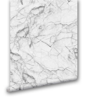 Faux White Marble - Wallpapers.com