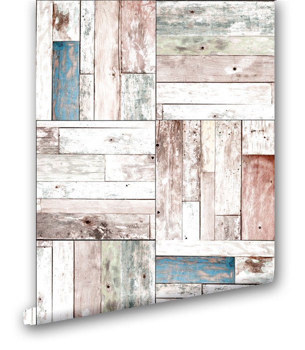 Vintage Wood Panels - Wallpapers.com