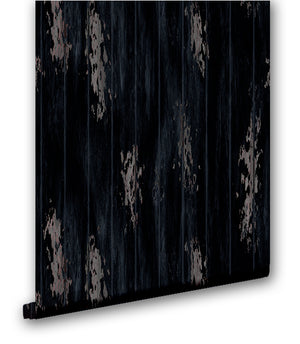 Rustic Vertical Wood Slats II - Wallpapers.com