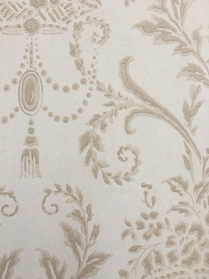 Vintage Damask II - Wallpapers.com