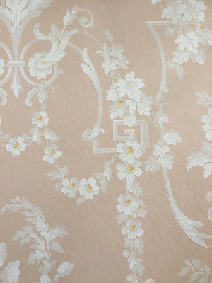 Vintage Damask III - Wallpapers.com