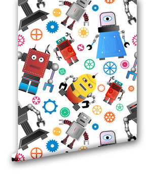 Robot Fun II - Wallpapers.com