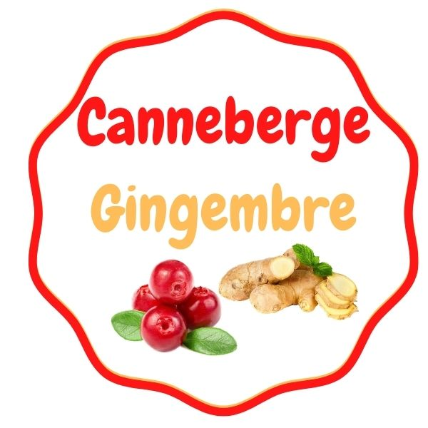 KEG - Canneberge-Gingembre