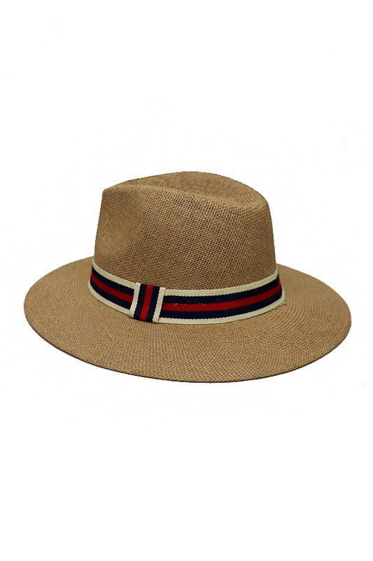 Chantelle Straw Panama hat - Tan