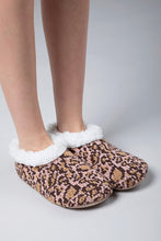 Cheetah Snuggle Slippers