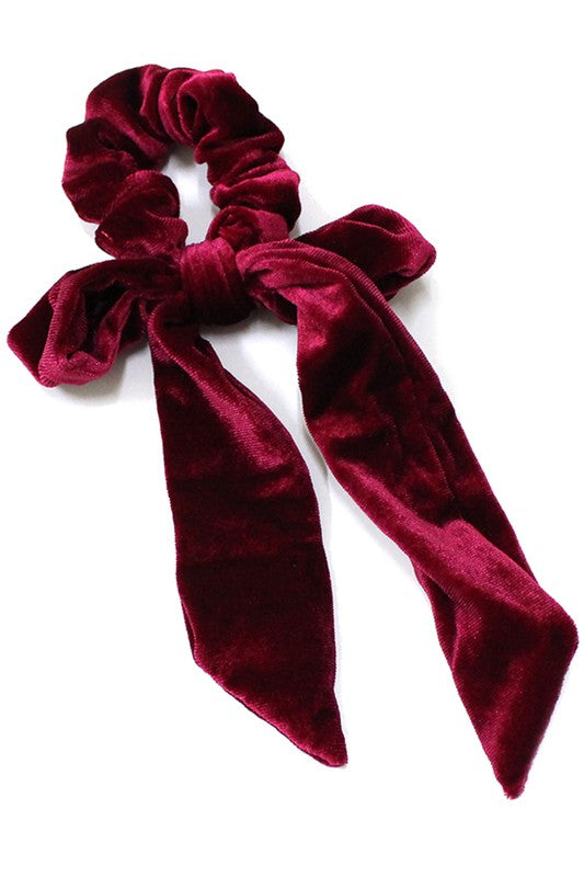 Holly Hair Bow - Scarlet