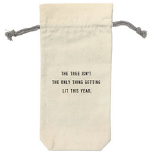 Canvas Wine Bag (Tons of Different Sayings!)