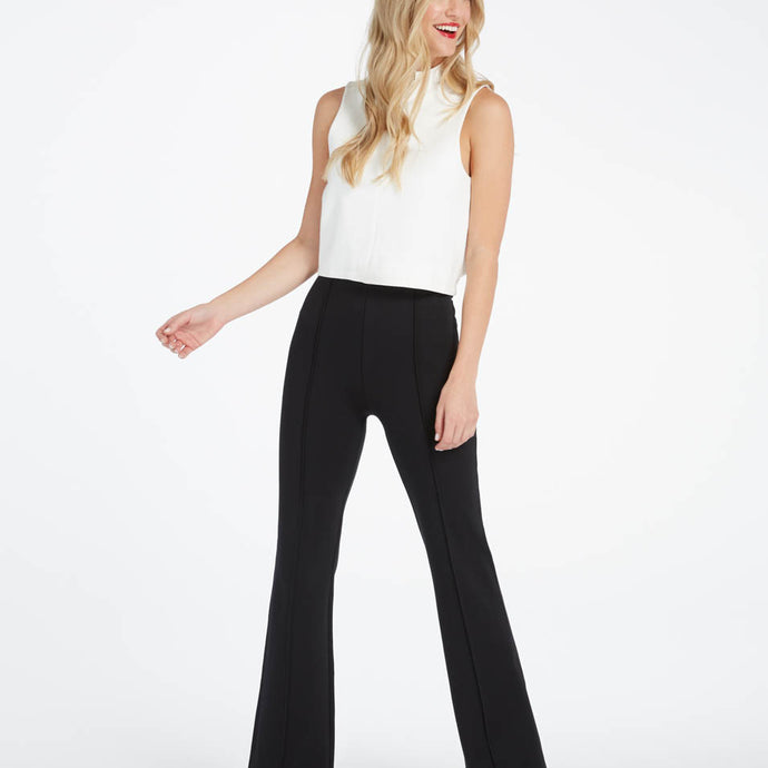 Spanx Perfect Black Pant - Hi-Rise Flare