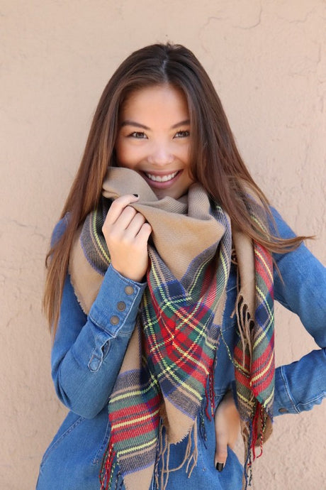 Saddlebrook Blanket Scarf