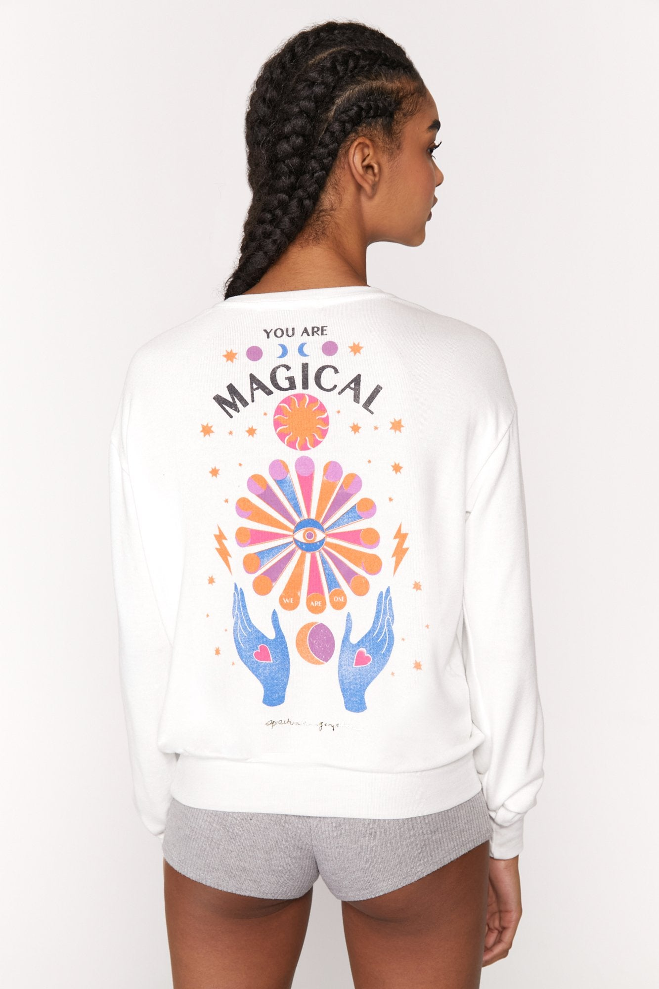 You Are Magical Savasana Pullover