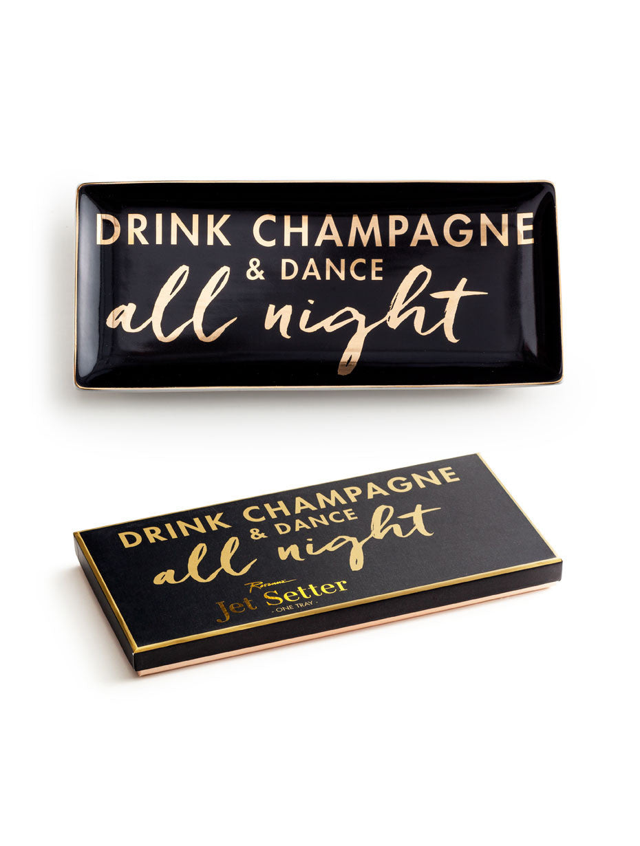 Jet Setter Drink Champagne Tray