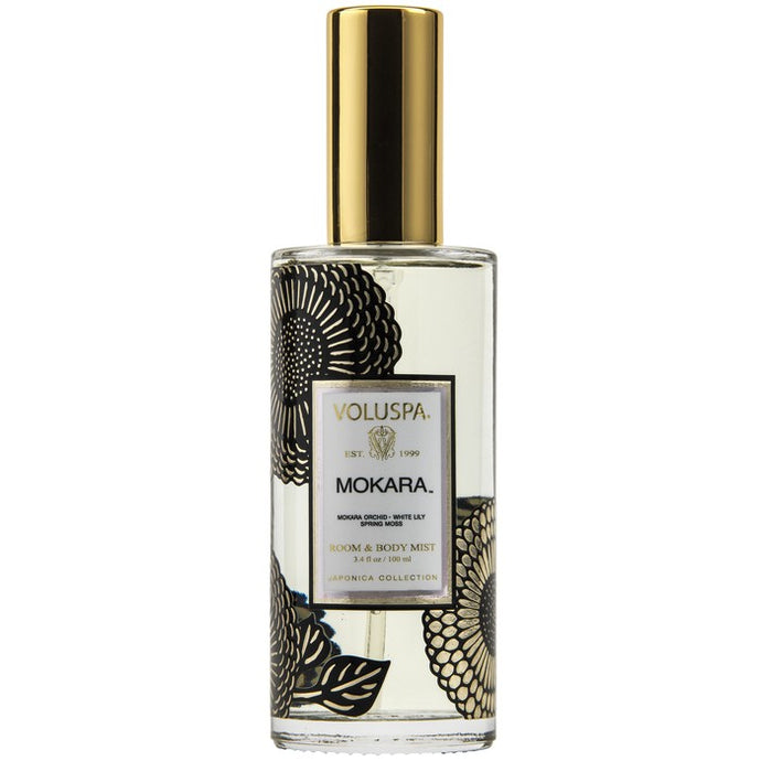 Voluspa Room & Body Mist - Mokara