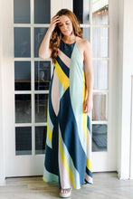 Soiree Halter Maxi Dress