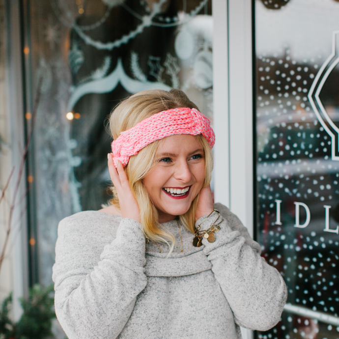 Grace Knit Wrap Headband