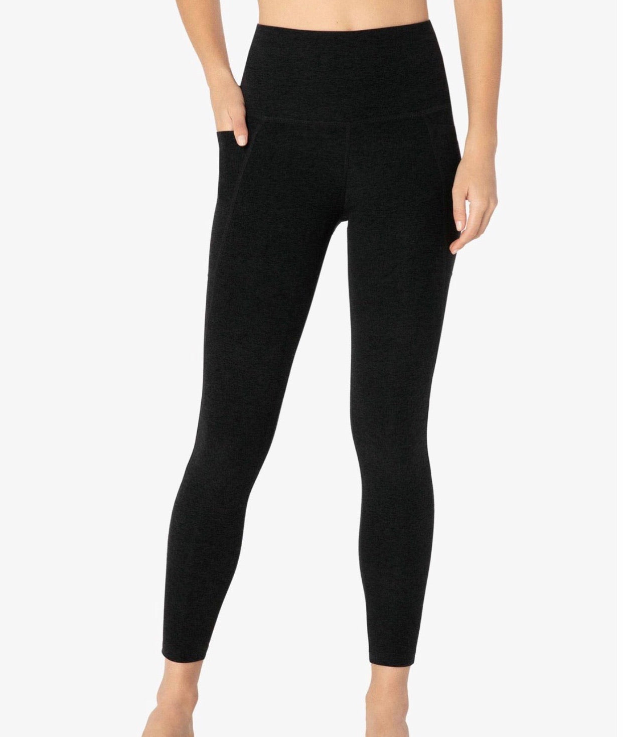 Beyond Yoga Spacedye Out of Pocket High Waisted Midi Legging