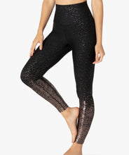 Beyond Yoga Alloy Ombre High Waisted Midi Legging - Black/ Gunmetal Speckle
