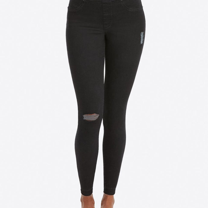 Spanx Distressed Skinny Jean Leggings